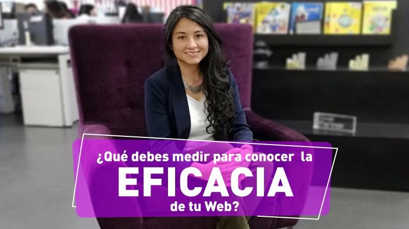 ¿Qué debes medir para conocer la eficacia de tu web?